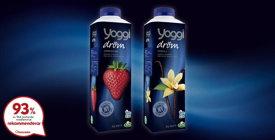 arla yoggi dröm